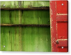 Acrylic Print featuring the photograph Open Door by Mike Eingle