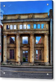 Open For Business Acrylic Print by Dave DelBen