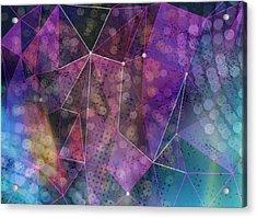 Open Geometric Acrylic Print