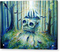 Acrylic Print featuring the painting Open Mind by Heather Calderon