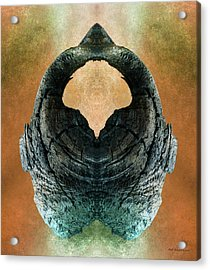 Open Mind Acrylic Print by WB Johnston