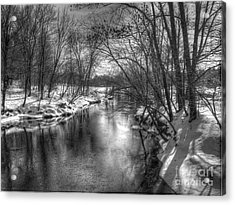 Acrylic Print featuring the photograph Open River by Betsy Zimmerli