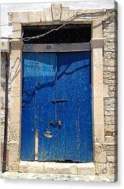 Open The Door To Cyprus  Acrylic Print