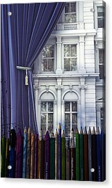 Open Up Your Day Acrylic Print by Jez C Self