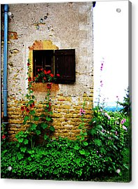 Open Window Acrylic Print