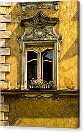 Open Window Acrylic Print by Robert Meyerson