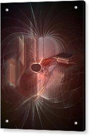 Openbook Lives Acrylic Print by C G Rhine
