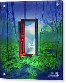 Opening Doors Acrylic Print