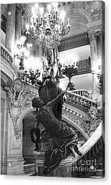 Opera Staircase Acrylic Print by Louise Fahy