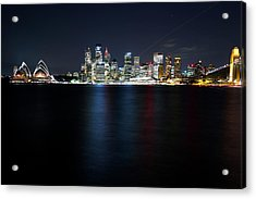 Harbour Streak Acrylic Print