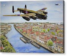 Operation Manna II Acrylic Print by Gale Cochran-Smith