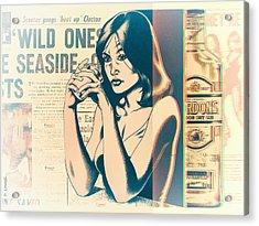 Ophelia 1976 Acrylic Print