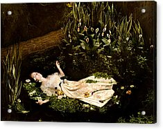 Ophelia Acrylic Print by Jacquie Thuemler