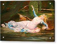Ophelia  Acrylic Print by Steve Jones