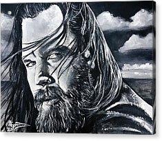 Opie Acrylic Print by Tom Carlton