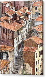 Oporto Houses Acrylic Print