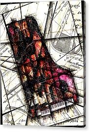 Opus  Acrylic Print by Gary Bodnar