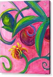 Opus Seven Acrylic Print by Rebecca Merola