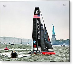 Oracle Team Usa America's Cup New York 2 Acrylic Print