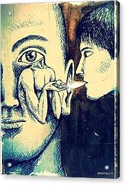 Oral Teachings Acrylic Print by Paulo Zerbato
