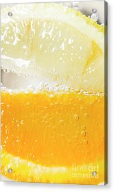 Orange And Lemon In Cocktail Glass Acrylic Print