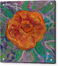 Acrylic Print featuring the painting Orange Blossom by John Keaton