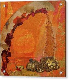 Orange Day Acrylic Print by Carole Johnson