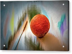 Acrylic Print featuring the photograph Orange #g4 by Leif Sohlman
