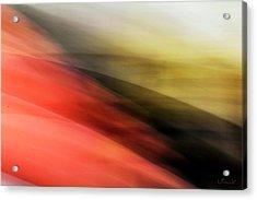 Orange Hills Acrylic Print