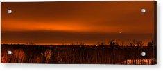 Orange Light Acrylic Print
