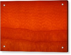 Orange Stone 3 Acrylic Print