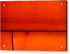 Orange Stone 4 Acrylic Print