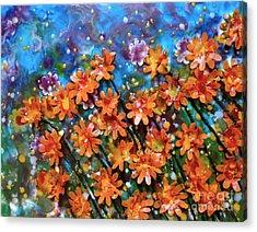 Amazing Orange Acrylic Print