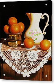 Orange You Sweet  Acrylic Print