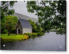 Oratory In Gougane Barra National Park In Ireland Acrylic Print