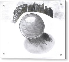 Orb Landing Acrylic Print