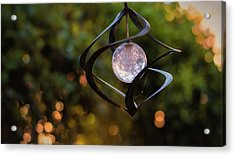Acrylic Print featuring the photograph Orb by Tim Nichols