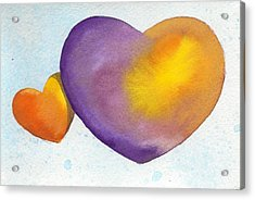 Orbit Love Acrylic Print