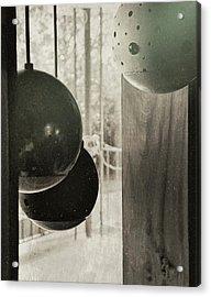 Orbiting Orbs Acrylic Print by JAMART Photography