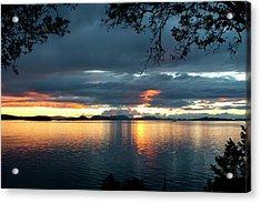 Orcas Island Sunset Acrylic Print