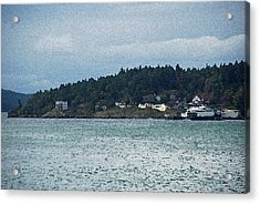 Orcas Island View  Acrylic Print by Carol  Eliassen