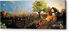 Orchard And Barn Acrylic Print