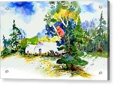 Orchard Springs Bear Acrylic Print