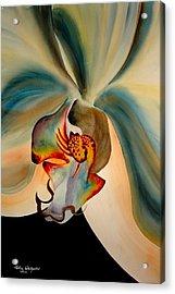 Orchid Diva Acrylic Print