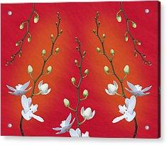 Orchid Ensemble Acrylic Print
