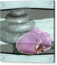 Orchid Tranquility Acrylic Print