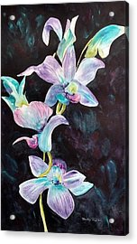 Orchids Alive Acrylic Print