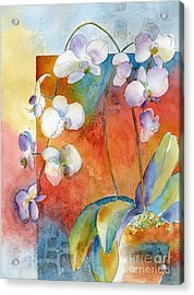 Orchids In Bend Acrylic Print