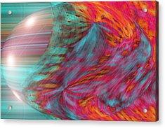 Order Of The Universe Acrylic Print by Linda Sannuti