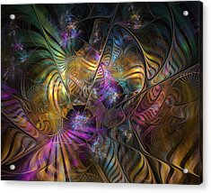 Acrylic Print featuring the digital art Ordinary Instances by NirvanaBlues